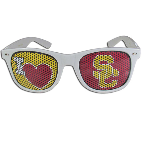 USC Trojans   I Heart Game Day Shades