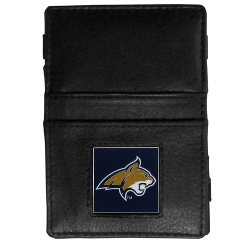 Montana St. Bobcats Leather Jacob's Ladder Wallet