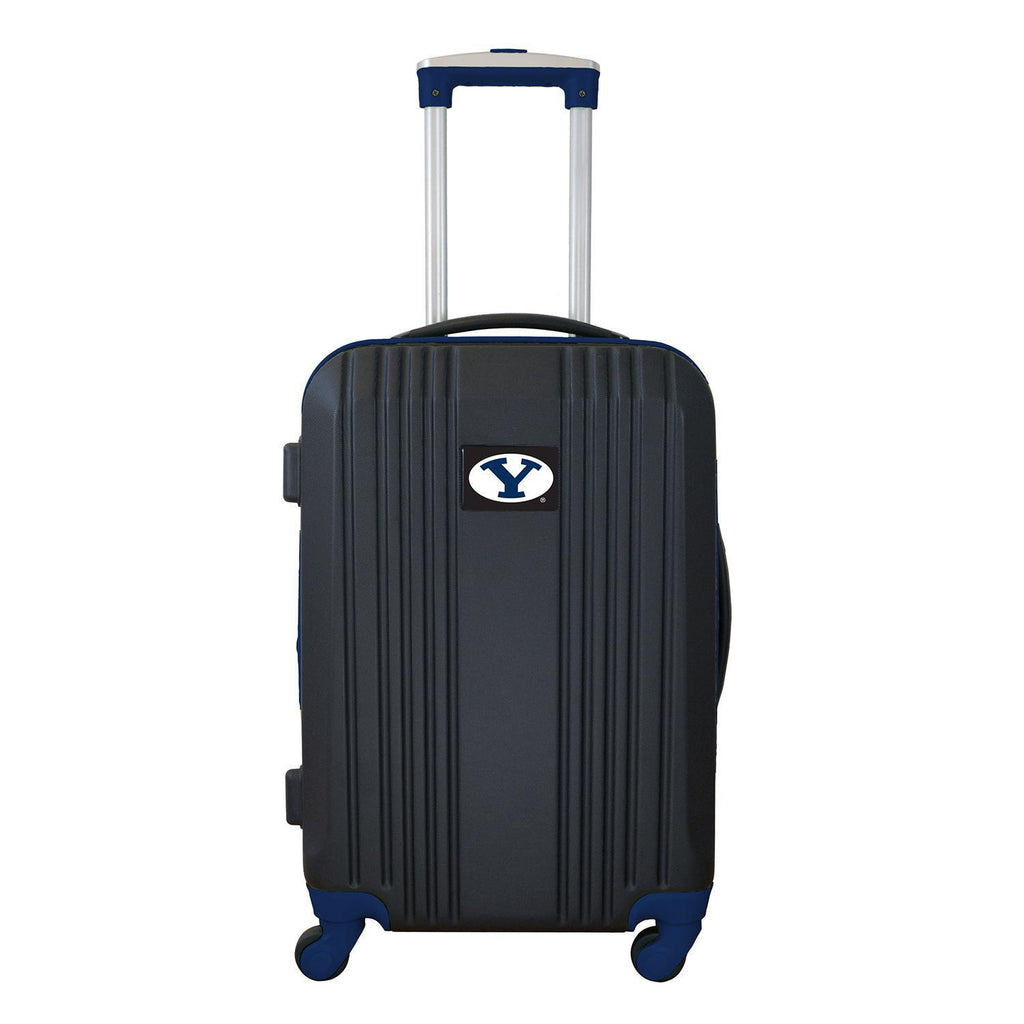 Brigham Young Cougars Luggage Carry-on 21in Hardcase two-tone Spinner 100% ABS-NAVY