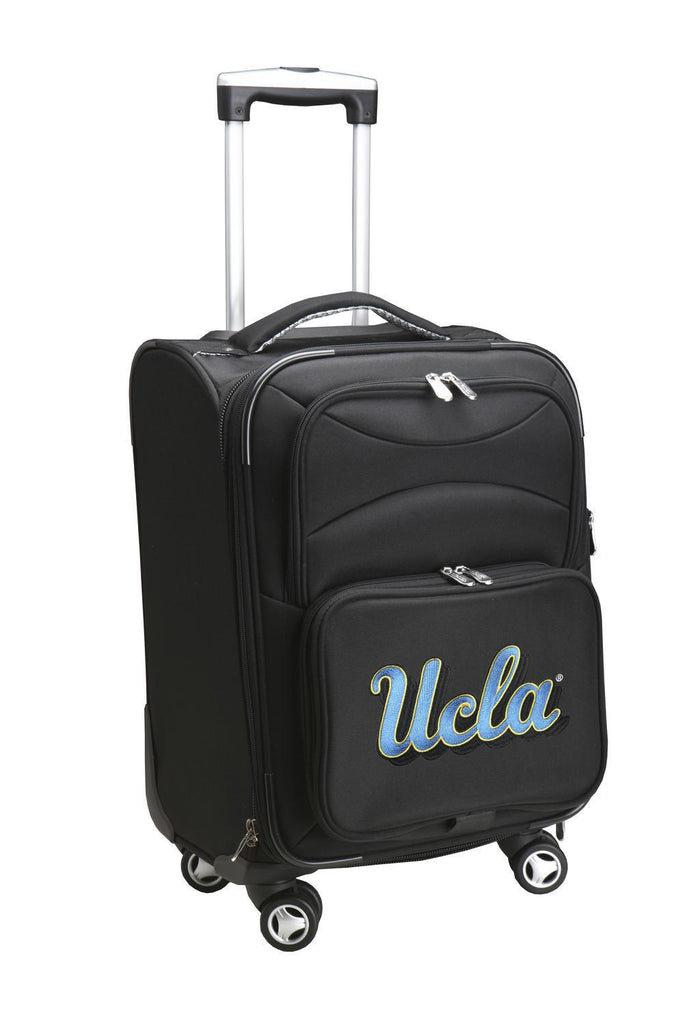 UCLA Bruins Luggage Carry-On 21in Spinner Softside Nylon-BLACK