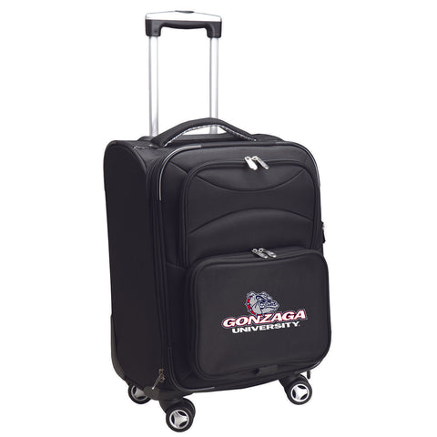 Gonzaga University Bulldogs Luggage Carry-On 21in Spinner Softside Nylon-BLACK