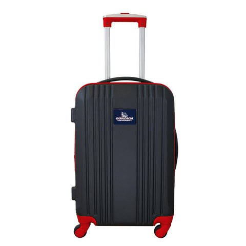 Gonzaga University Bulldogs Luggage Carry-on 21in Hardcase two-tone Spinner 100% ABS-RED