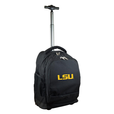 Louisiana Tigers Wheeled Premium Backpack