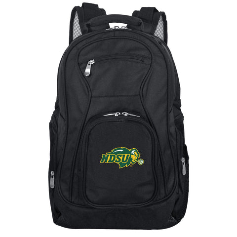 North Dakota State Bison Backpack Laptop-BLACK