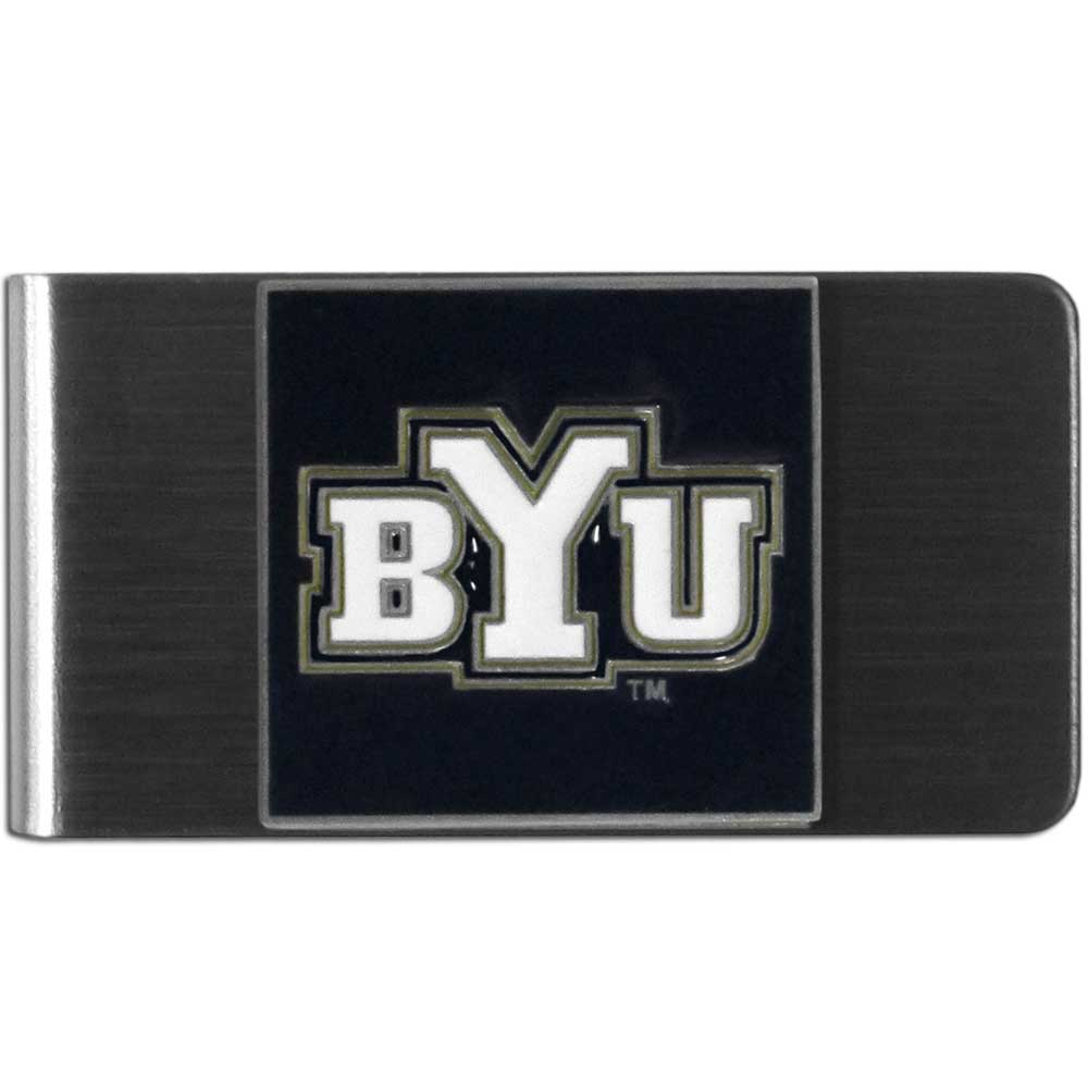 BYU Cougars Money Clip - Steel