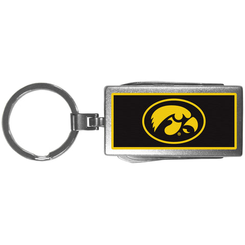 Iowa Hawkeyes   Multi tool Key Chain Logo