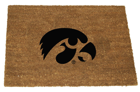 Iowa Hawkeyes  Colored Logo Door Mat