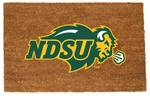 North Dakota State Bison  Colored Logo Door Mat
