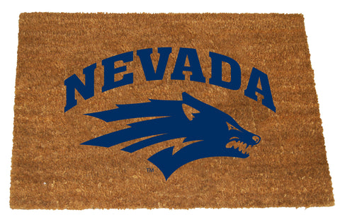 Nevada Wolf Pack  Colored Logo Door Mat
