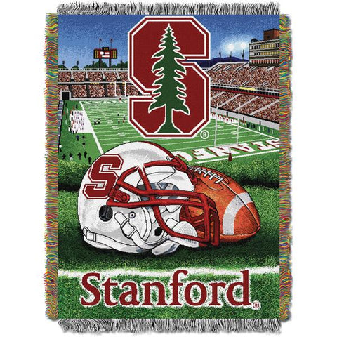 "Stanford Cardinal NCAA Home Field Advantage 48""x 60"" Woven Tapestry Throw"