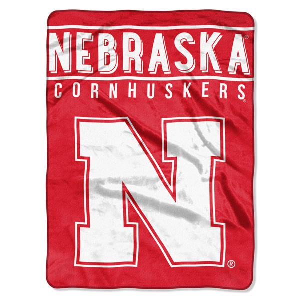 Nebraska Cornhuskers NCAA Basic 60 x 80 Raschel Throw