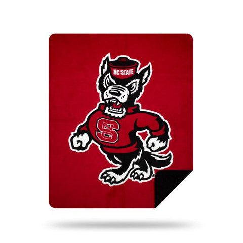 NC State Wolfpack NCAA Denali® Sliver Knit Throw