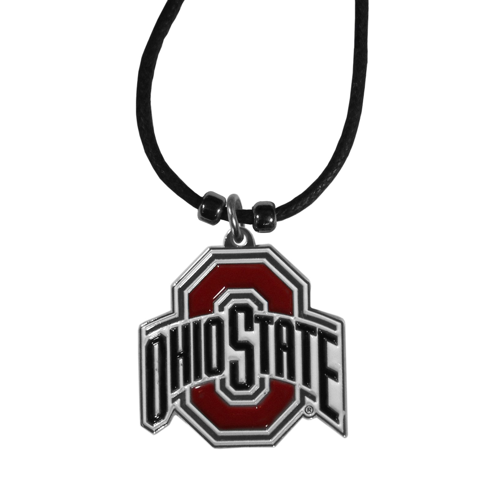 Ohio State Buckeyes   Cord Necklace