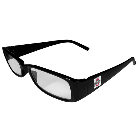 Ohio St. Buckeyes Black Reading Glasses