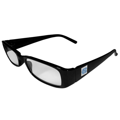 N. Carolina Tar Heels Black Reading Glasses