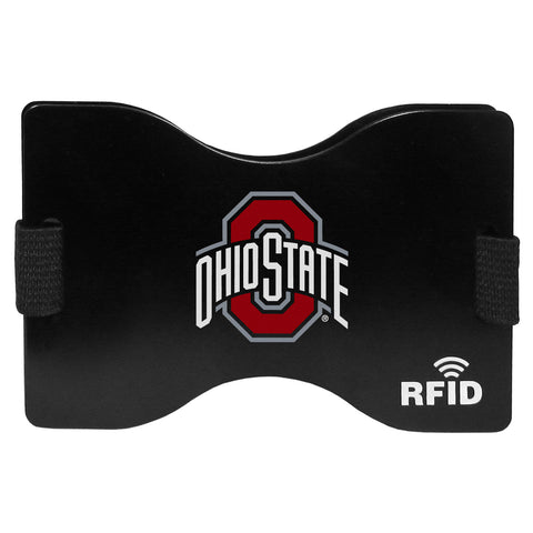 Ohio St. Buckeyes RFID Blocking Wallet and Money Clip