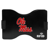 Mississippi Rebels RFID Blocking Wallet and Money Clip