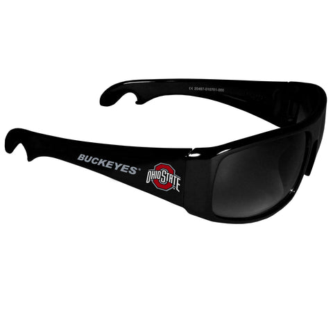 Ohio St. Buckeyes Wrap Bottle Opener Sunglasses