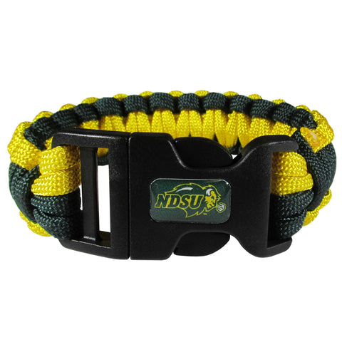 North Dakota State Bison   Survivor Bracelet