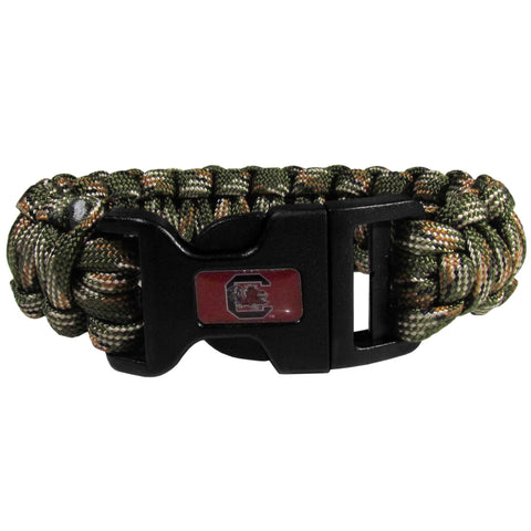 S. Carolina Gamecocks Camo Survivor Bracelet