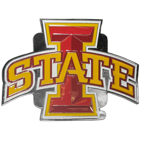 Iowa St. Cyclones Class III Hitch Cover - Std Wire Plugs