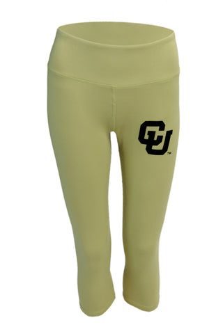Colorado Buffaloes Women's Yoga Pant (Gold)