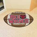 "Arkansas State Football Rug 20.5""x32.5"""