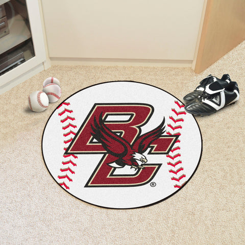 "Boston College Baseball Mat 27"" diameter"