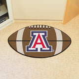 "Arizona Football Rug 20.5""x32.5"""