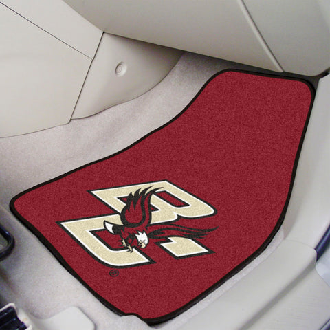 "Boston College 2-pc Carpeted Car Mats 17""x27"""