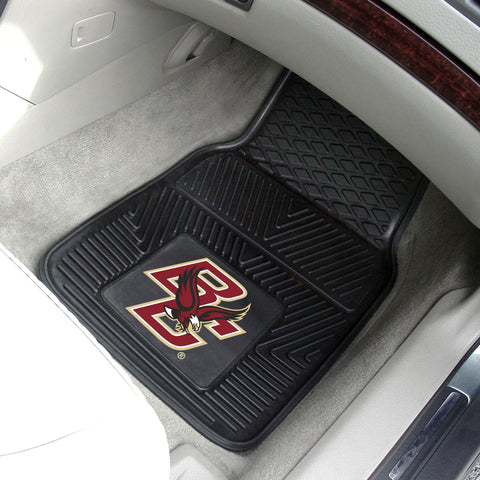 "Boston College 2-pc Vinyl Car Mats 17""x27"""