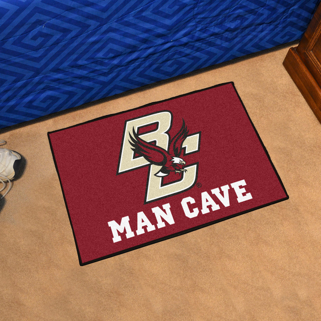 "Boston College Man Cave Starter Rug 19""x30"""