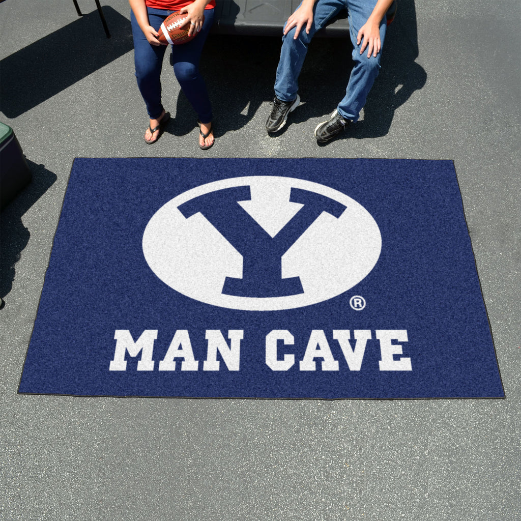 Brigham Young Man Cave UltiMat 5'x8' Rug