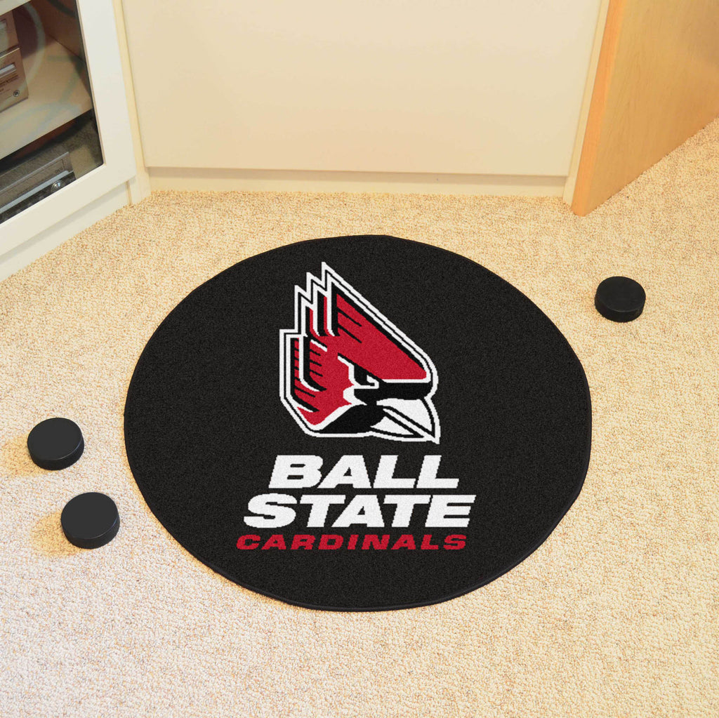 "Ball State Puck Mat 27"" diameter"