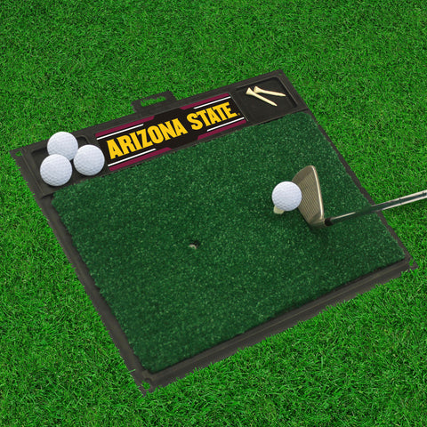 "Arizona State Golf Hitting Mat 20"" x 17"""