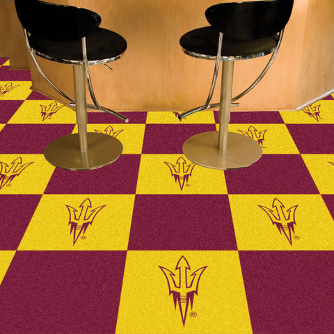 "Arizona State 18""x18"" Carpet Tiles"