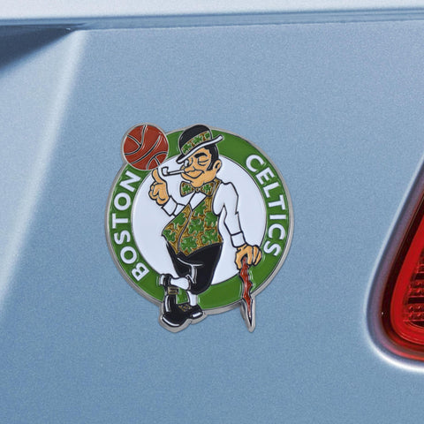 Boston Celtics Color Auto Emblem