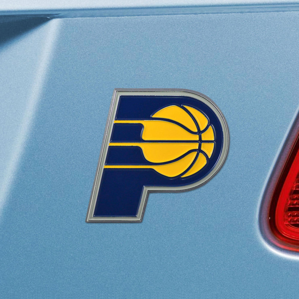 Indiana Pacers Color Auto Emblem