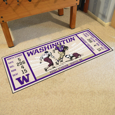 "University of Washington Ticket Runner 30""x72"""