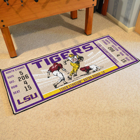 "Louisiana State University Ticket Runner 30""x72"""