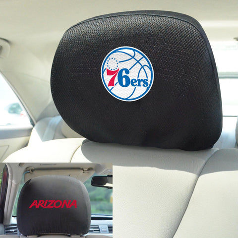 "NBA - Philadelphia 76ers Head Rest Cover 10""x13"""