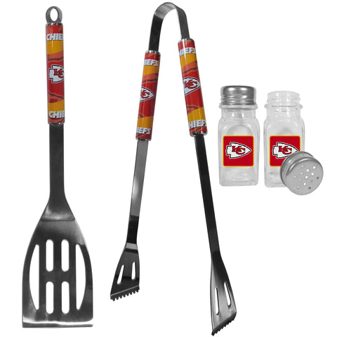 Kansas City Chiefs 2pc BBQ Set