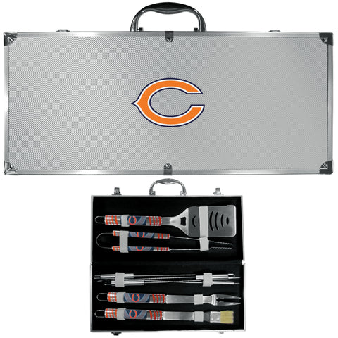 Chicago Bears 8 pc BBQ Set - Tailgater