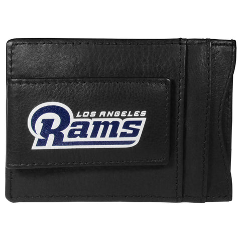 Los Angeles Rams   Logo Leather Cash and Cardholder