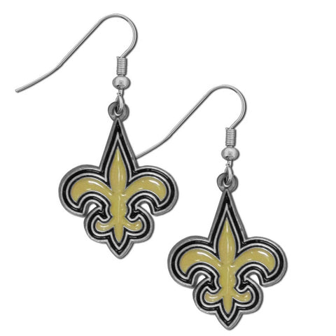 New Orleans Saints   Dangle Earrings