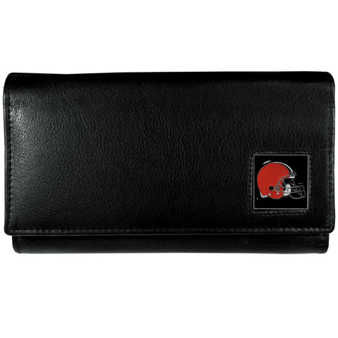 Cleveland Browns   Leather Women's Wallet