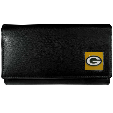 Green Bay Packers   Leather Women's Wallet
