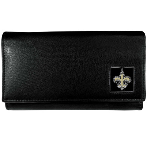 New Orleans Saints   Leather Women's Wallet