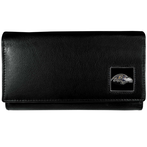 Baltimore Ravens   Leather Women's Wallet