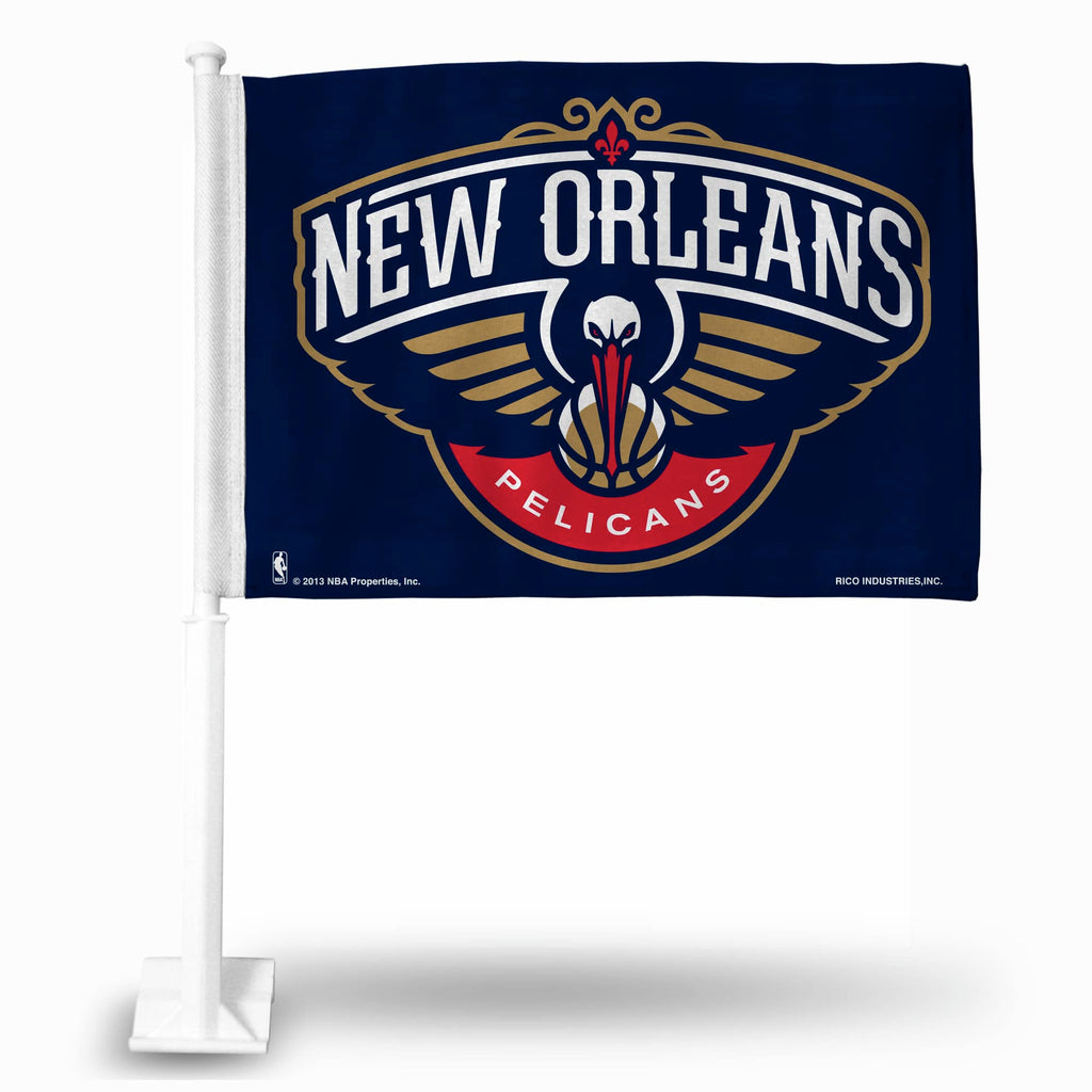 New Orleans Pelicans Car Flag